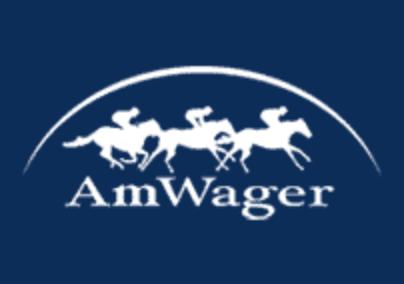 AmWager blue logo